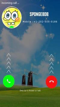 Fake call from sponge boob apk download free entertainment app for fake call from sponge boob apk screenshot voltagebd Gallery