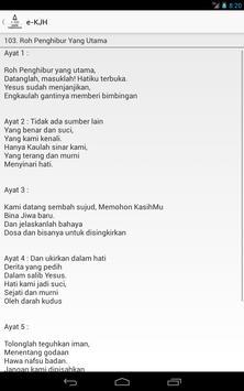 KJ HKBP (Ende Terjemahan) apk screenshot