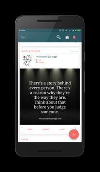 Nojoto - Be Awesome, Always! apk screenshot