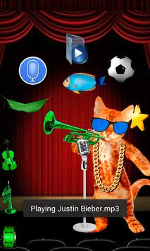 Talking and Singing Cat apk screenshot
