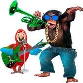 Talking Parrot vs Monkey Sing icon