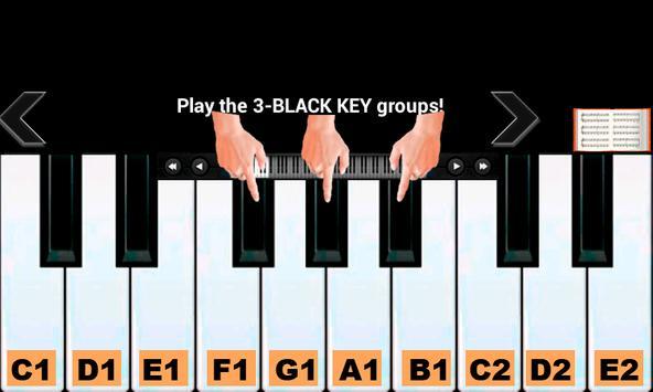 6 Schermata Insegnante di pianoforte reale