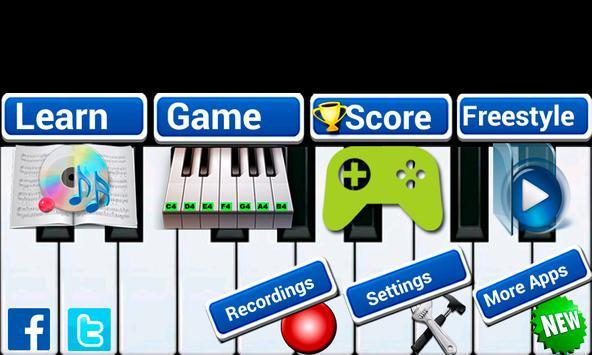 8 Schermata Insegnante di pianoforte reale
