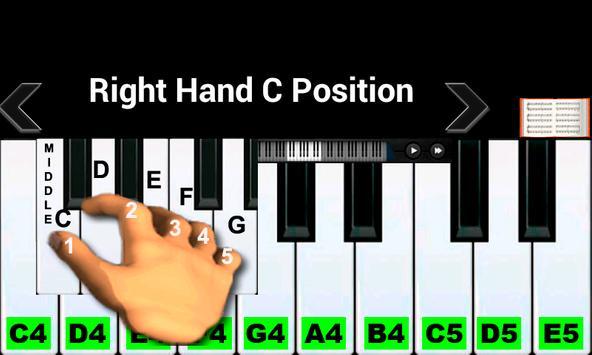 10 Schermata Insegnante di pianoforte reale