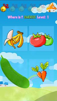 ABC Learn Fruits & Vegetables screenshot 11