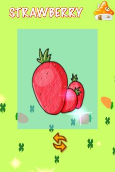 ABC Learn Fruits & Vegetables screenshot 1