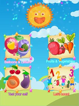 ABC Learn Fruits & Vegetables screenshot 5