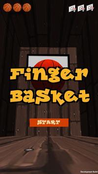 指バスケット poster