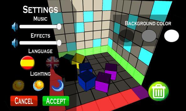 3D Cube Destroy poster