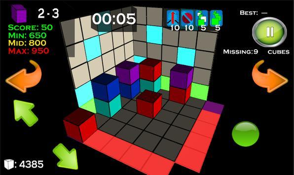 3D Cube Destroy apk screenshot