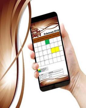 Malaysia Calendar 2018 apk screenshot