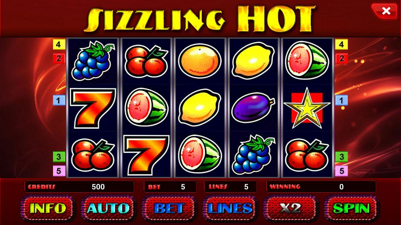 casino sizzling hot deluxe
