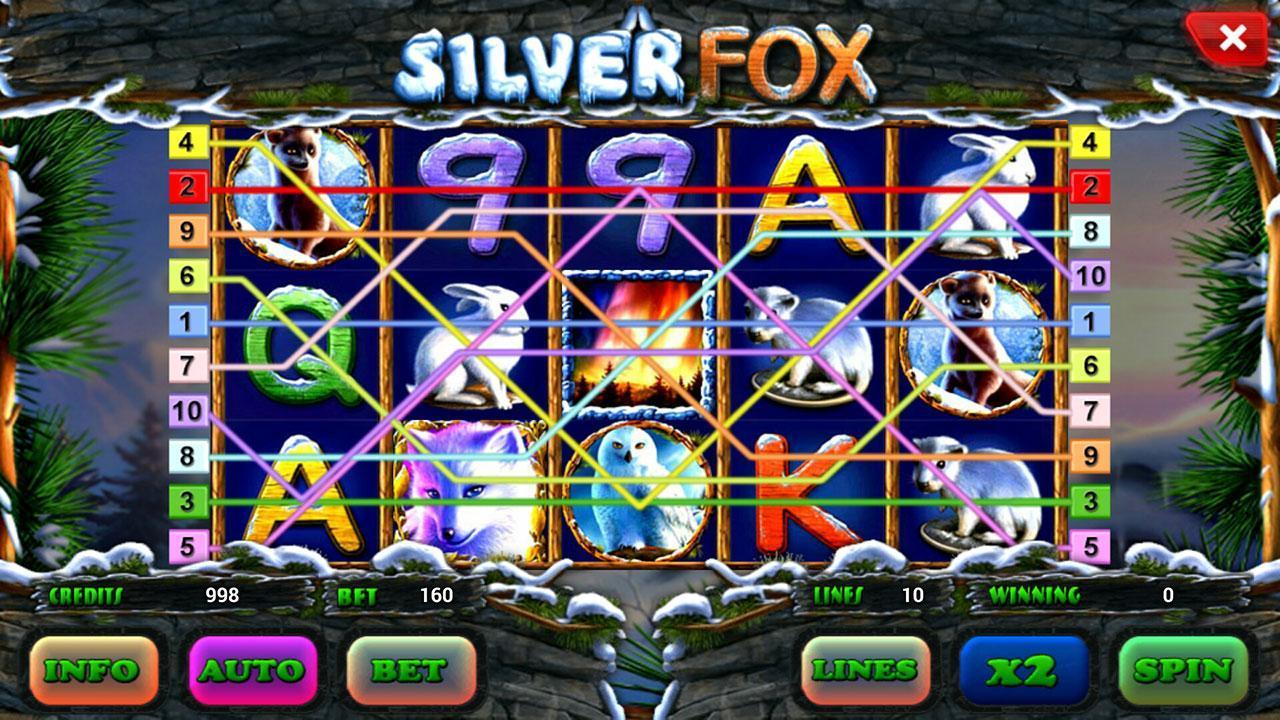 silver fox описание игрового автомата