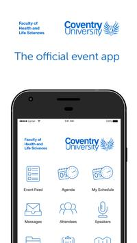 Coventry Uni HLS Open Day poster
