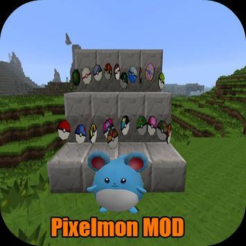 Pixelmon Mod MCPE poster