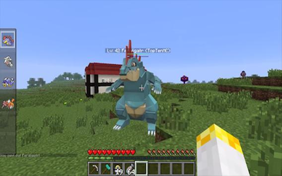 Pixelmon Mod MCPE apk screenshot
