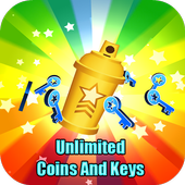 Unlimited Coins And Keys icon