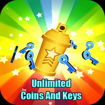 Unlimited Coins And Keys poster