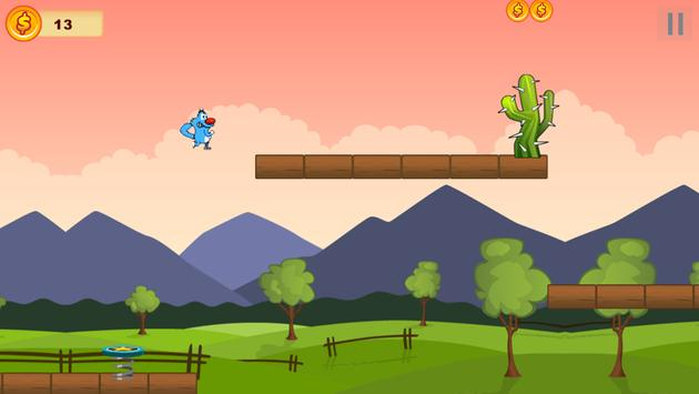 Oggy Jump and the Cockroaches screenshot 1