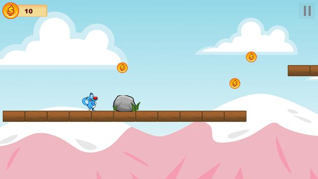 Oggy Jump and the Cockroaches screenshot 2