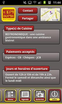 L'Épi Dupin apk screenshot