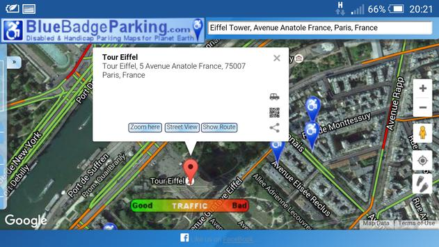 Blue Badge Parking apk screenshot