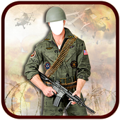 Army Photo Suit New icon