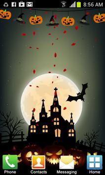 Halloween Live Wallpaper screenshot 1