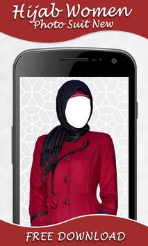 Hijab Women Photo Suit New poster