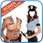 Women Police Suit Maker New icon