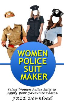 Women Police Suit Maker New poster