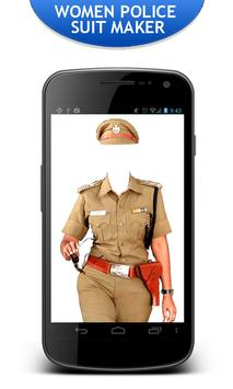 Women Police Suit Maker New apk screenshot