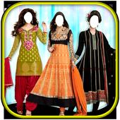 Women Salwar Kameez Suit New icon