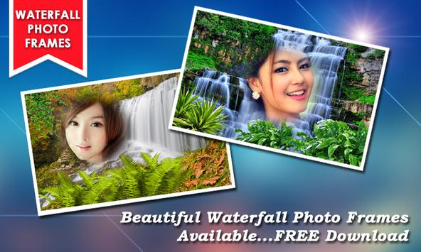 Waterfall Photo Frames New poster