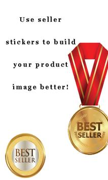 Stickers For Seller poster