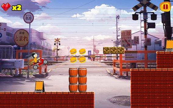 Moto Nobita Race 2017 apk screenshot