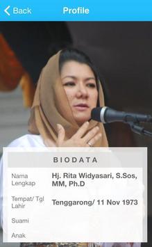 Rita Widyasari apk screenshot