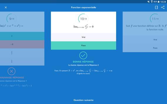 Bac S - 2018 Révision, Cours, Quiz, Annales apk screenshot