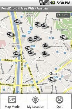 Free WiFi - Austria - Free screenshot 1