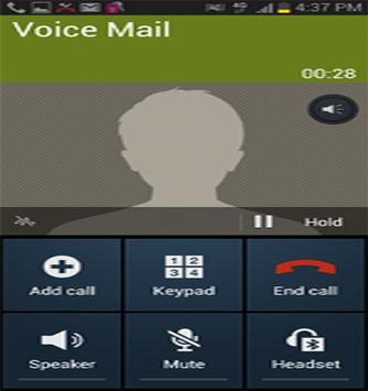App d'annonce d'appelant poster