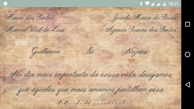 Convite de casamento digital screenshot 12