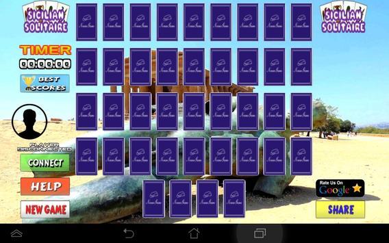 Cards Sicilian Solitaire apk screenshot