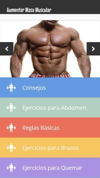 Aumentar Masa Muscular poster