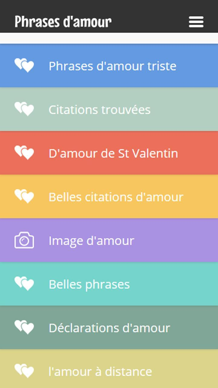 Belles Phrases Damour For Android Apk Download