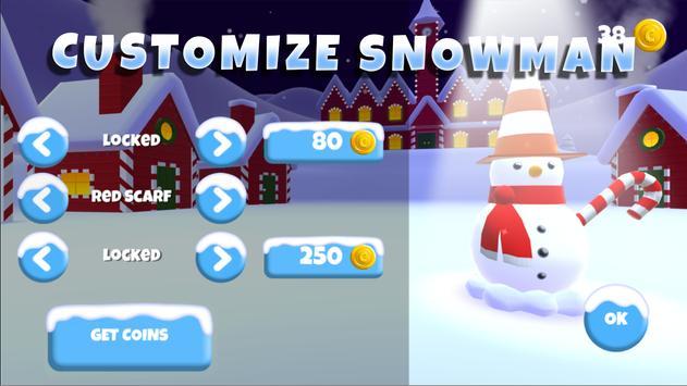 Save snowman poster