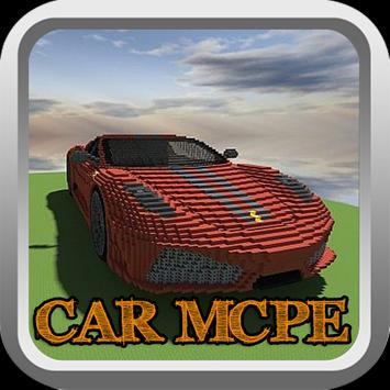 Mods a Car For MCPE poster