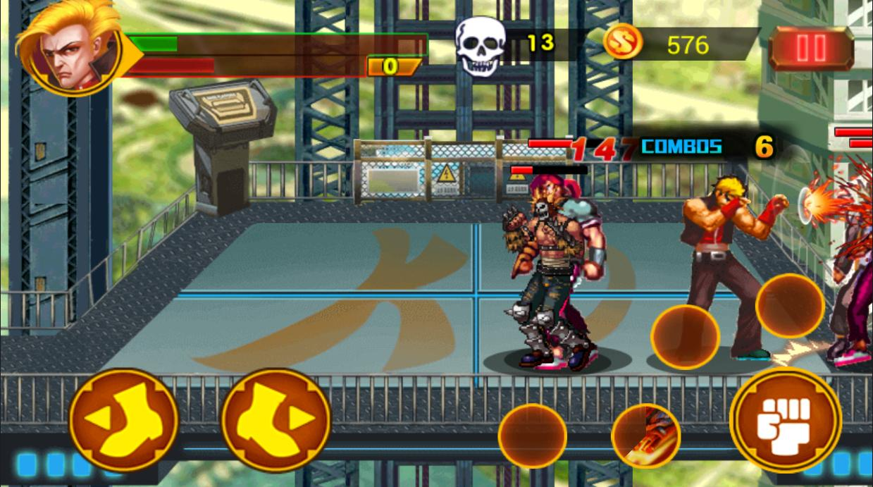 Art Kung Fu Street Fighter Combat Fightcade Roms for Android