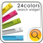24color Search Widget icon
