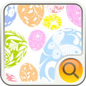 Easter Egg Search Widget icon