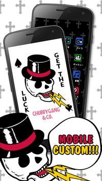 ChubbyGang-GET THE LUCK ウィジェット apk screenshot